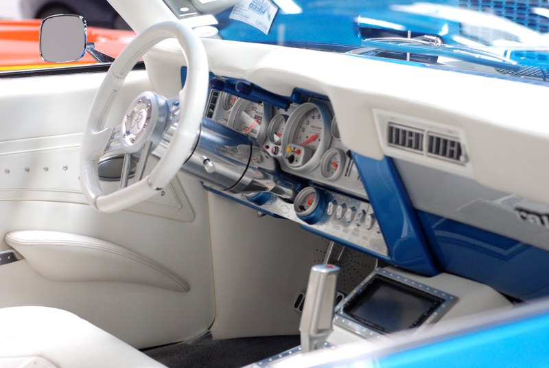 1969 CHEVROLET CAMARO CUSTOM 2 DOOR COUPE - Interior - 162750