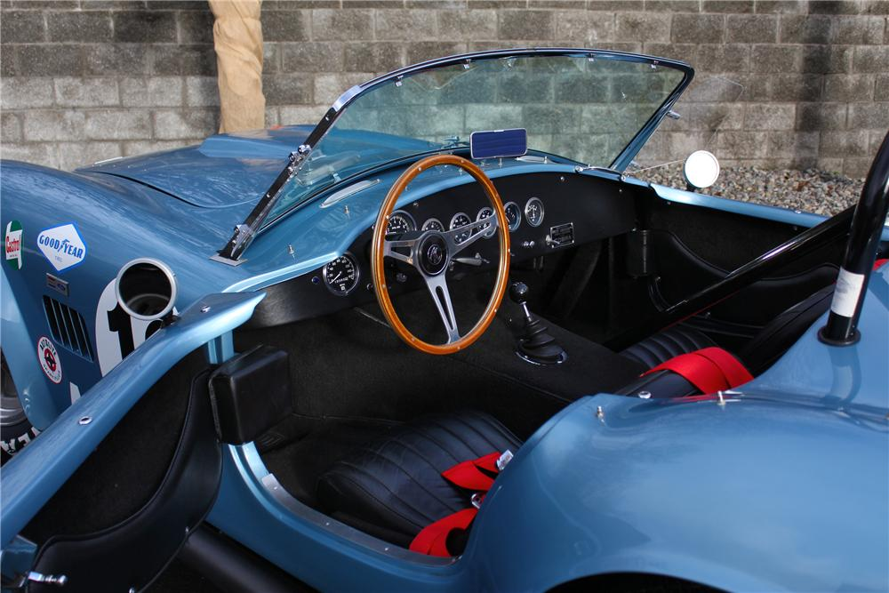 1964 SHELBY COBRA RE-CREATION ROADSTER - Interior - 162757