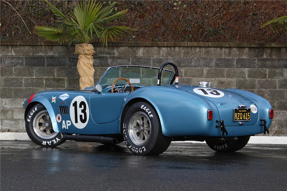 1964 SHELBY COBRA RE-CREATION ROADSTER - Rear 3/4 - 162757