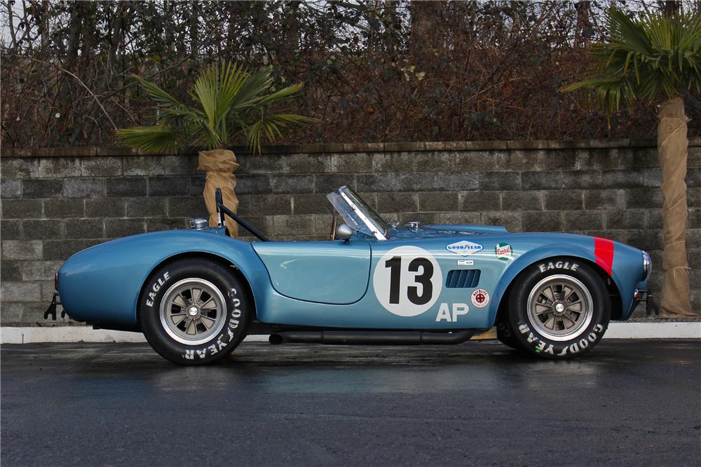1964 SHELBY COBRA RE-CREATION ROADSTER - Side Profile - 162757