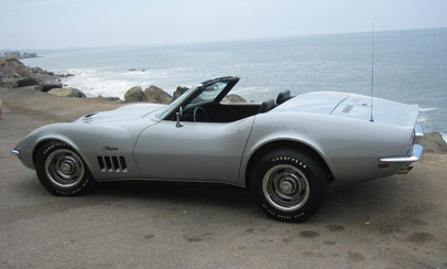 1969 CHEVROLET CORVETTE 427/435 ROADSTER - Rear 3/4 - 16276