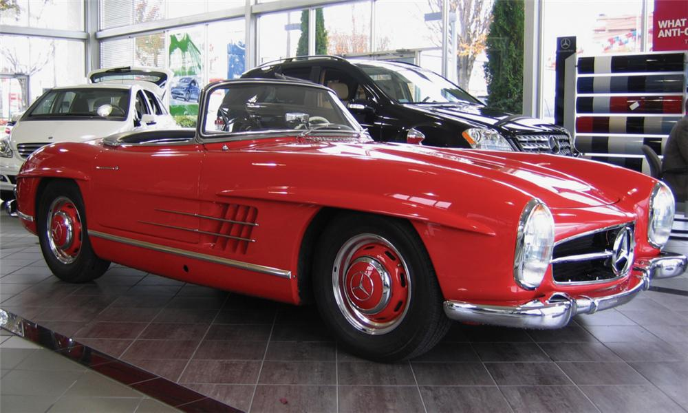1959 MERCEDES-BENZ 300SL 2 DOOR ROADSTER - Front 3/4 - 16278