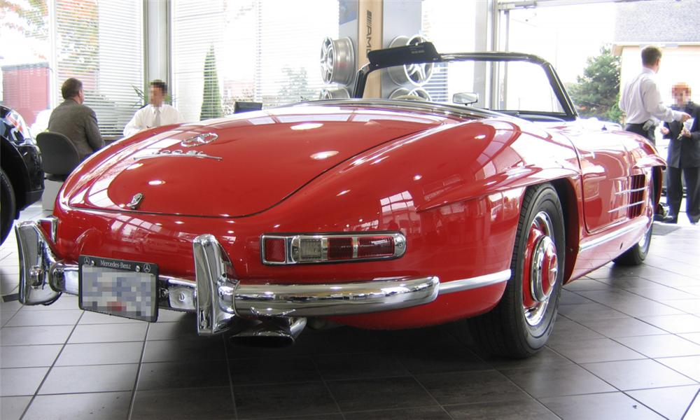 1959 MERCEDES-BENZ 300SL 2 DOOR ROADSTER - Rear 3/4 - 16278