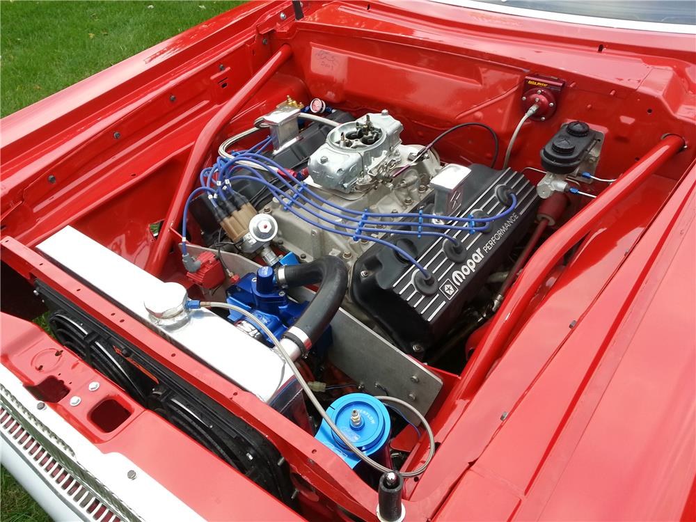 1965 DODGE CORONET SUPER STOCK RE-CREATION - Engine - 162823