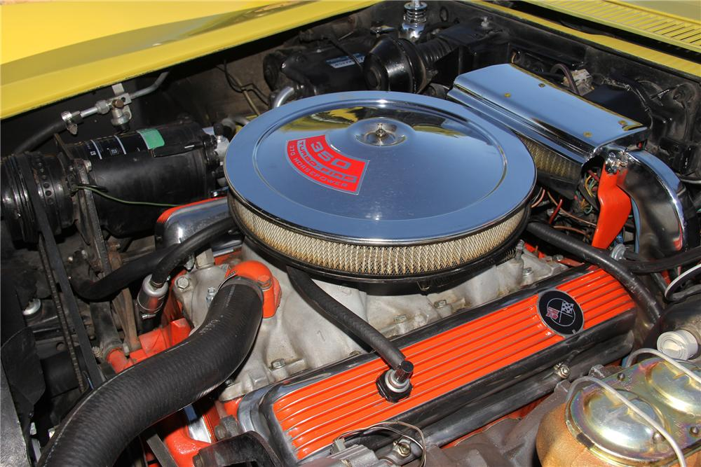 1970 CHEVROLET CORVETTE COUPE - Engine - 162828