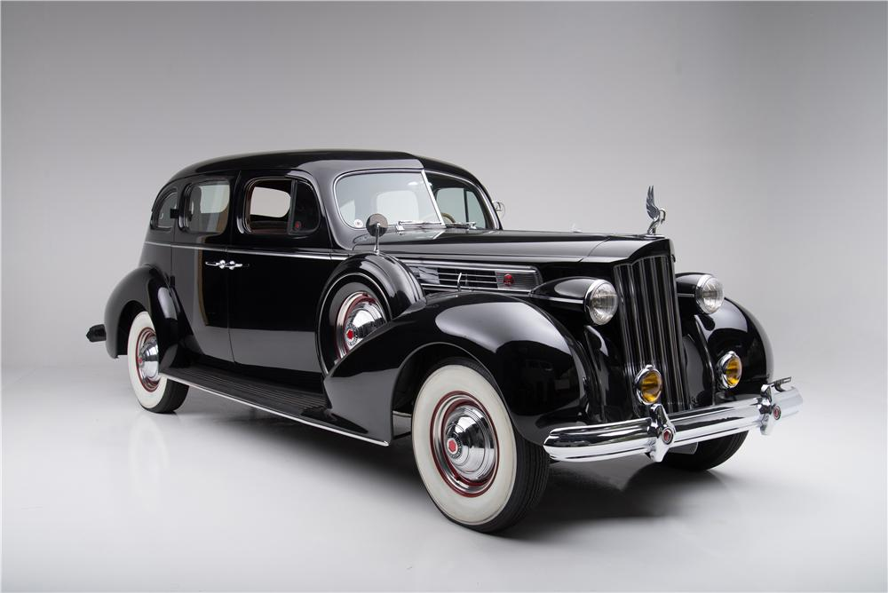 1939 PACKARD SUPER 8 4 DOOR SEDAN - Front 3/4 - 162834