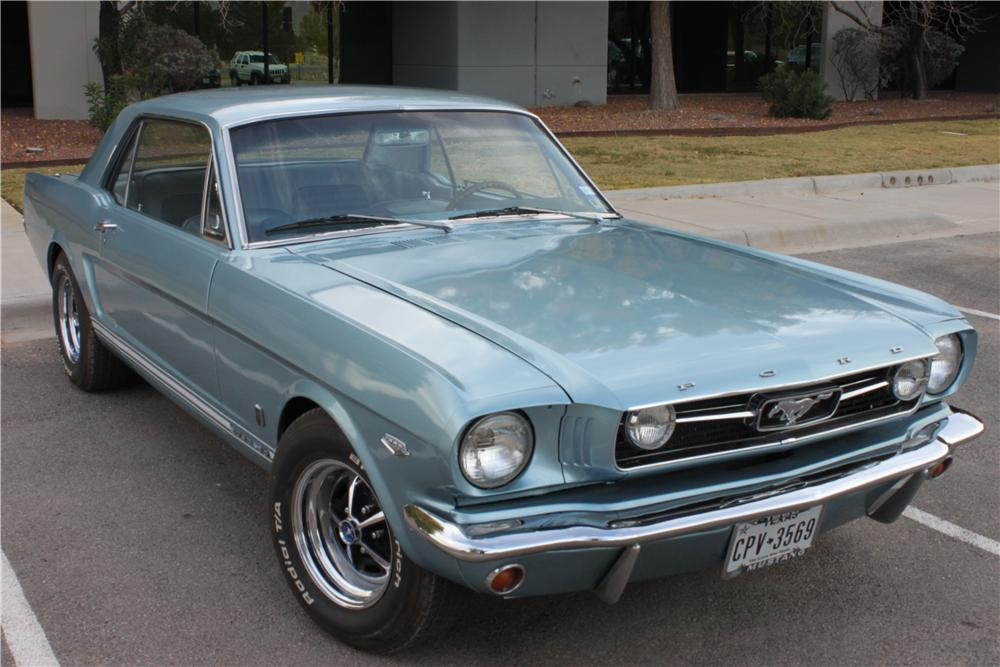 1966 Ford Mustang Gt 2 Door Coupe 162836