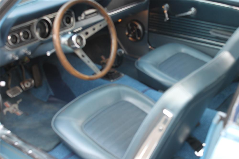 1966 FORD MUSTANG GT 2 DOOR COUPE - Interior - 162836