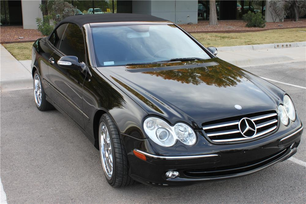 2005 mercedes benz clk 320 convertible 162837. Black Bedroom Furniture Sets. Home Design Ideas