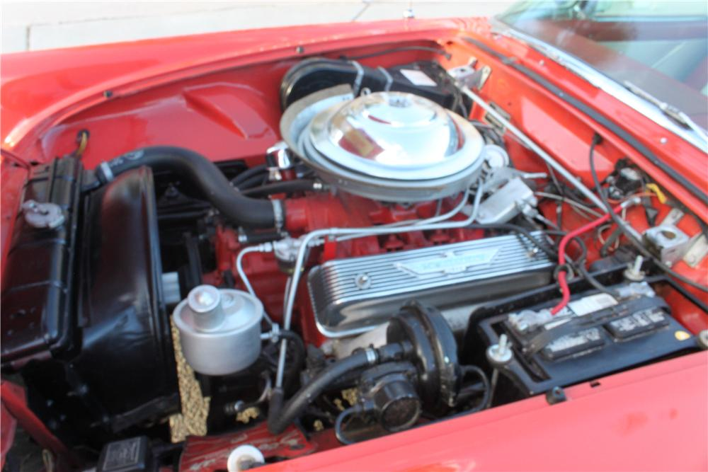 1956 FORD THUNDERBIRD CONVERTIBLE - Engine - 162841