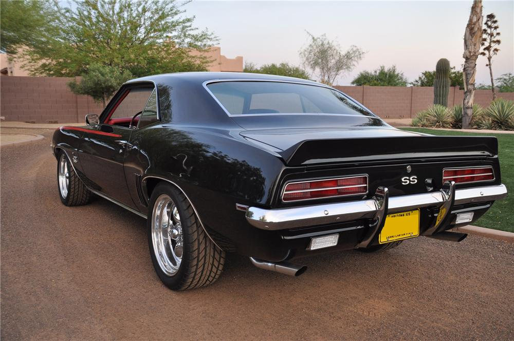 1969 CHEVROLET CAMARO RS/SS 2 DOOR COUPE - Rear 3/4 - 162848
