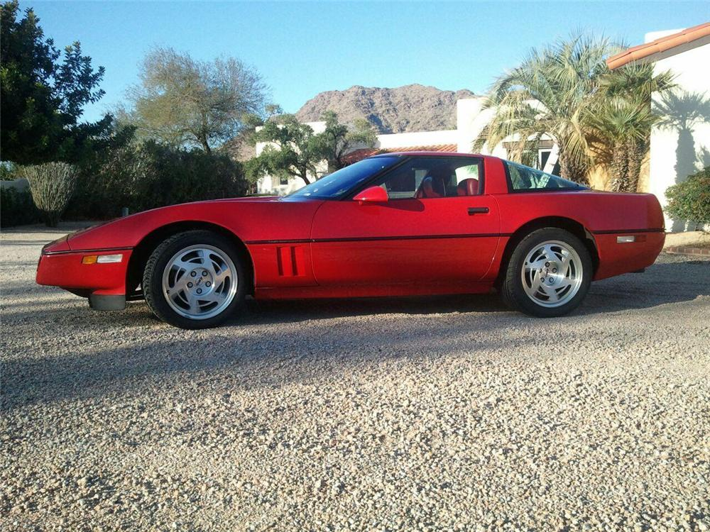 1990 CHEVROLET CORVETTE ZR1 2 DOOR COUPE - Front 3/4 - 162849
