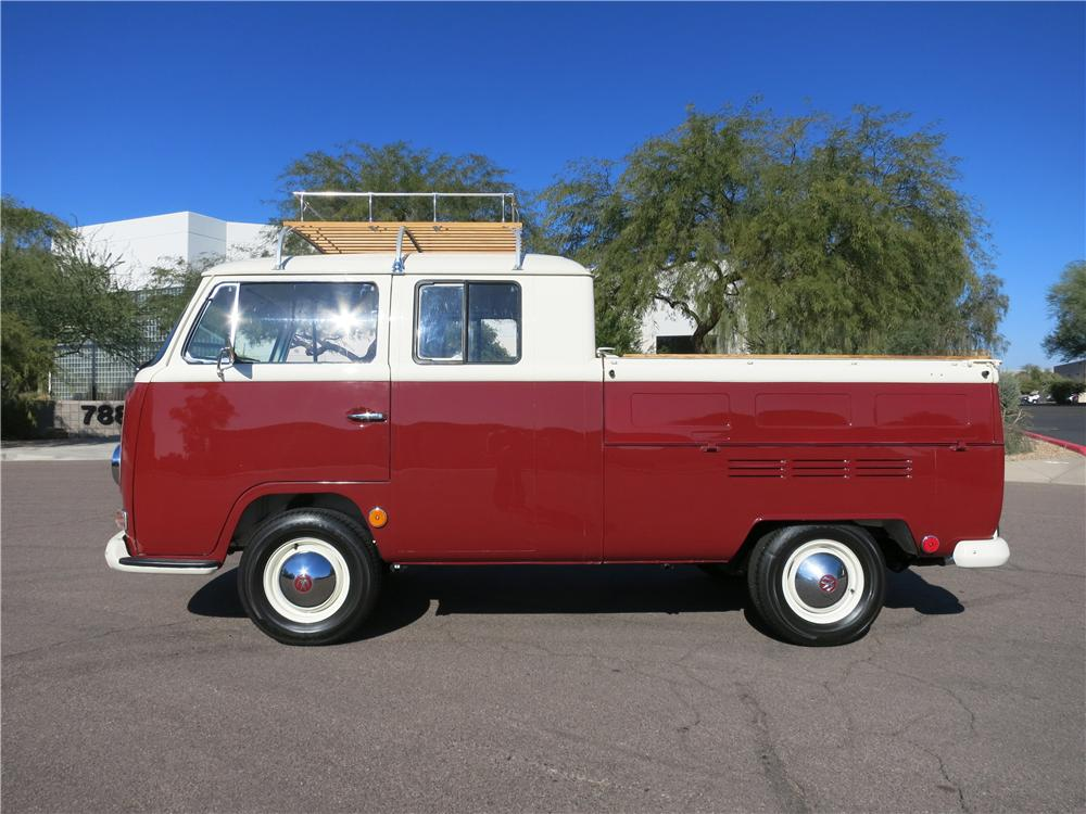 1969 VOLKSWAGEN DOUBLE CAB PICKUP - Side Profile - 162857