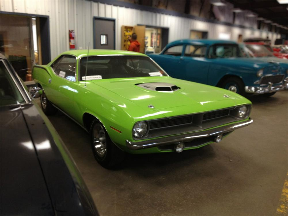1970 PLYMOUTH HEMI CUDA 2 DOOR COUPE - Front 3/4 - 162869