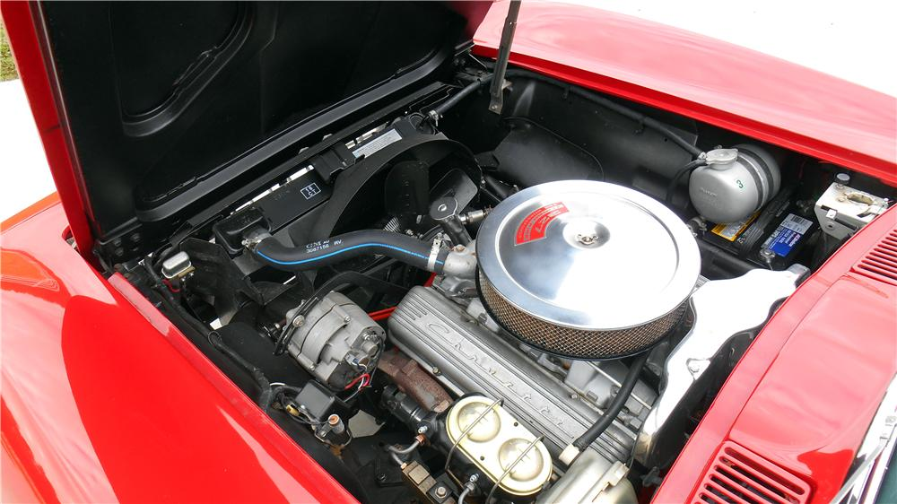 1967 CHEVROLET CORVETTE CONVERTIBLE - Engine - 162894