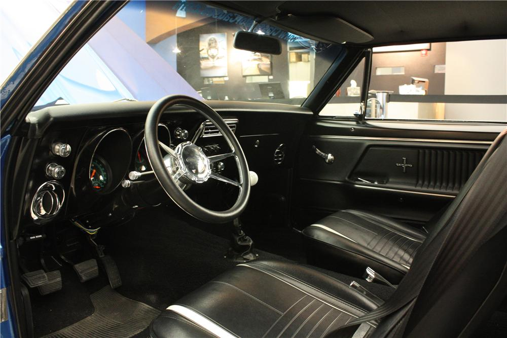 1967 CHEVROLET CAMARO SS 2 DOOR COUPE - Interior - 162896