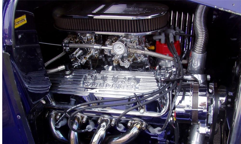 1929 FORD MODEL A ROADSTER - Engine - 16290