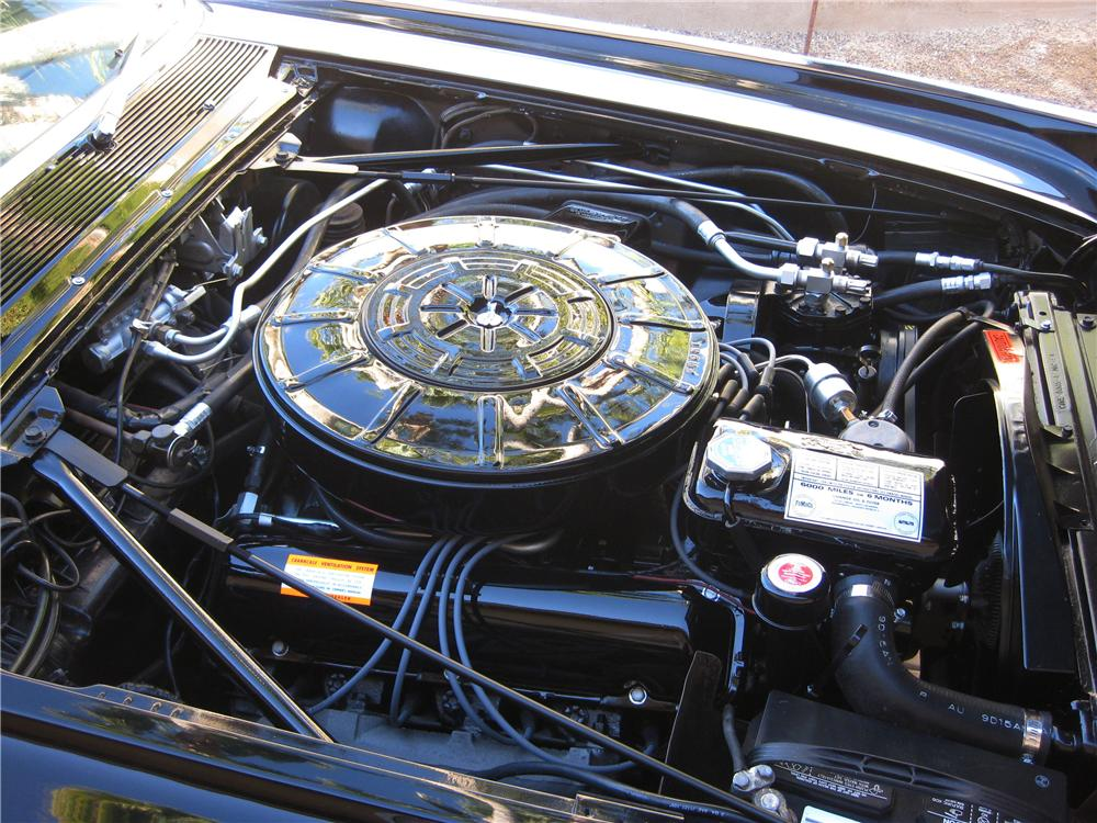 1964 LINCOLN CONTINENTAL CONVERTIBLE - Engine - 162906