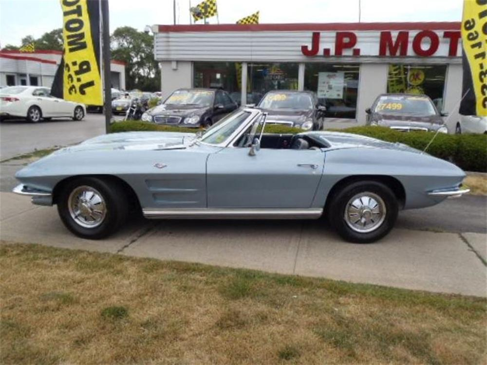 1964 CHEVROLET CORVETTE CONVERTIBLE - Front 3/4 - 162910