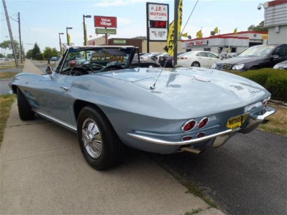 1964 CHEVROLET CORVETTE CONVERTIBLE - Rear 3/4 - 162910