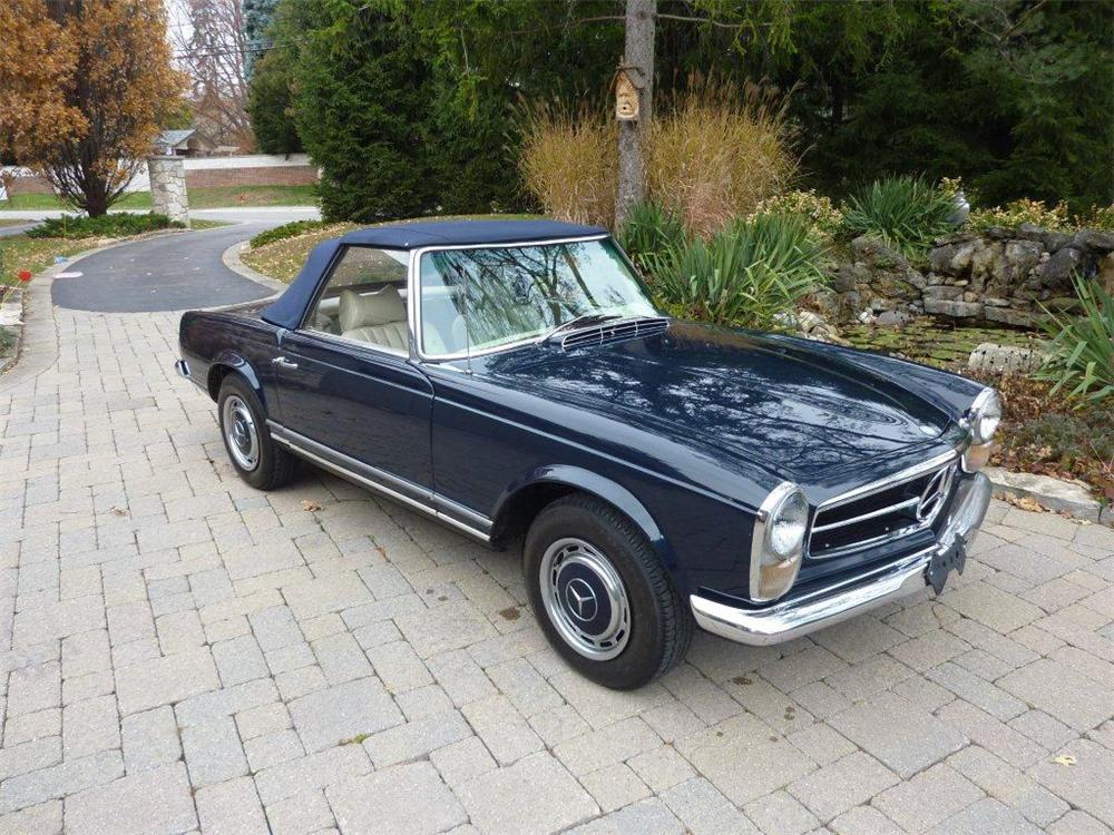 1969 mercedes benz 280sl convertible 162912 for Mercedes benz hardtop convertible 2014