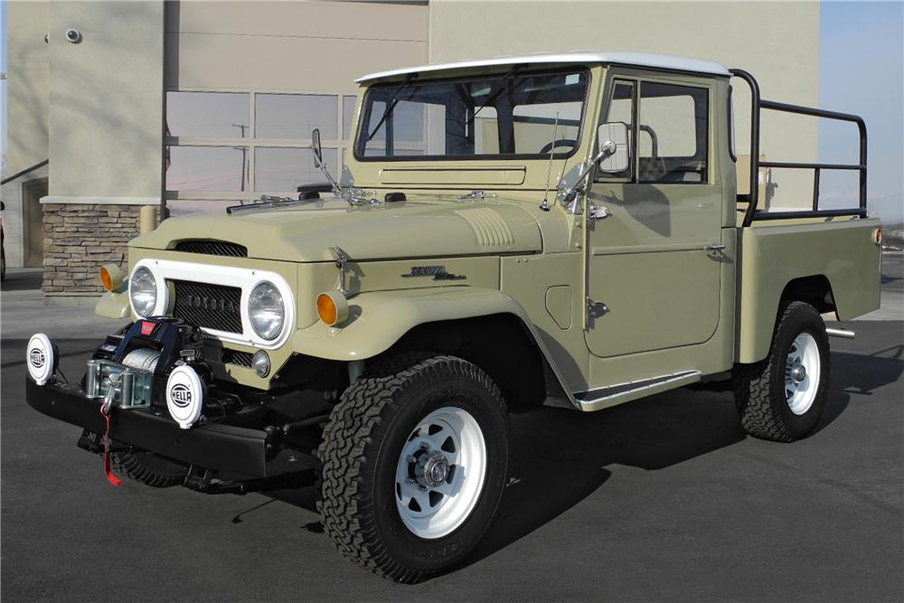 1966 Toyota Land Cruiser Fj 45 Pickup 162914