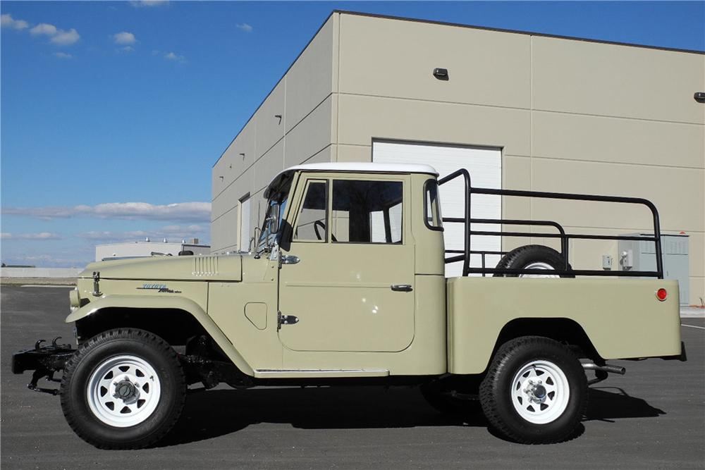 1966 TOYOTA LAND CRUISER FJ-45 PICKUP - Side Profile - 162914