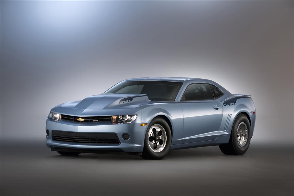2014 CHEVROLET CAMARO COPO 2 DOOR COUPE - Front 3/4 - 162918
