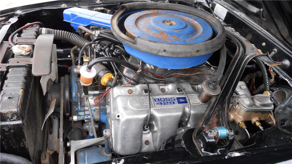 1969 FORD MUSTANG BOSS 429 FASTBACK - Engine - 162928