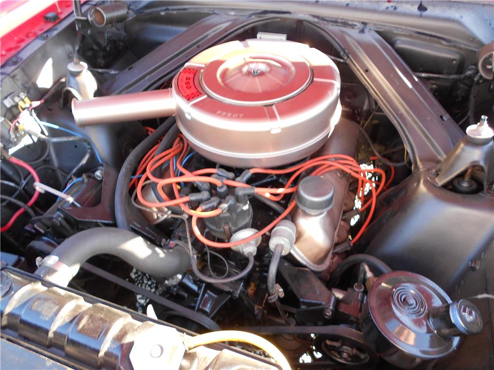 1964 FORD FALCON FUTURA CONVERTIBLE - Engine - 162956