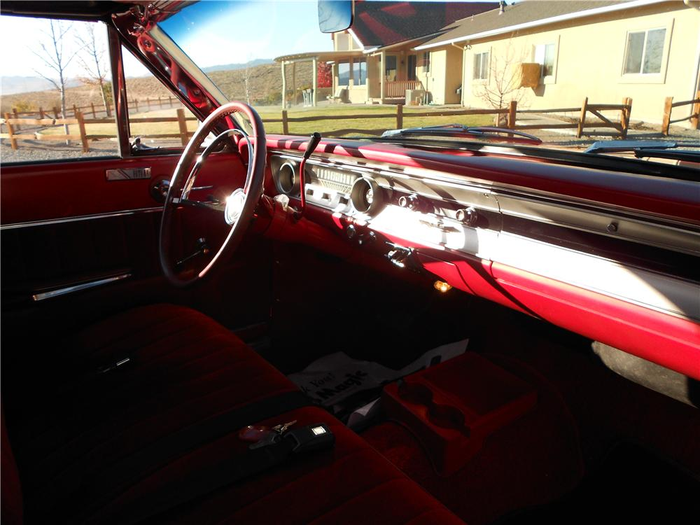 1964 FORD FALCON FUTURA CONVERTIBLE - Interior - 162956