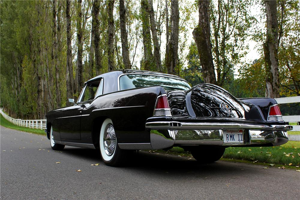 1956 LINCOLN CONTINENTAL MARK II 2 DOOR COUPE - Rear 3/4 - 162960