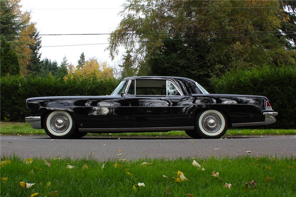 1956 LINCOLN CONTINENTAL MARK II 2 DOOR COUPE - Side Profile - 162960