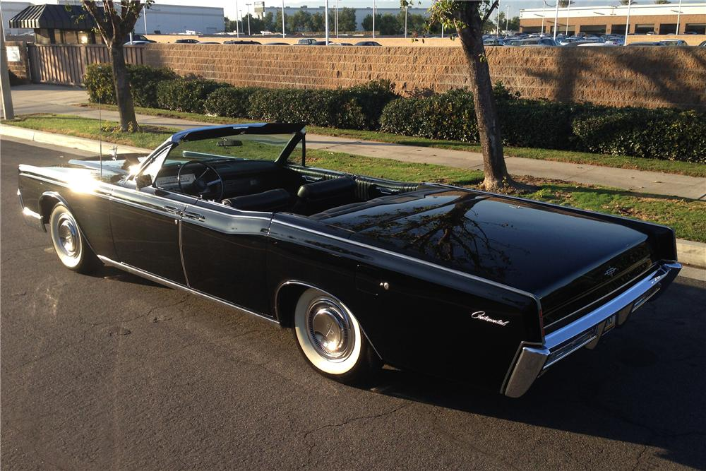 1967 lincoln continental 4 door convertible   162962