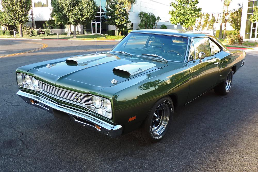 1969 DODGE SUPER BEE 2 DOOR COUPE - Front 3/4 - 162963