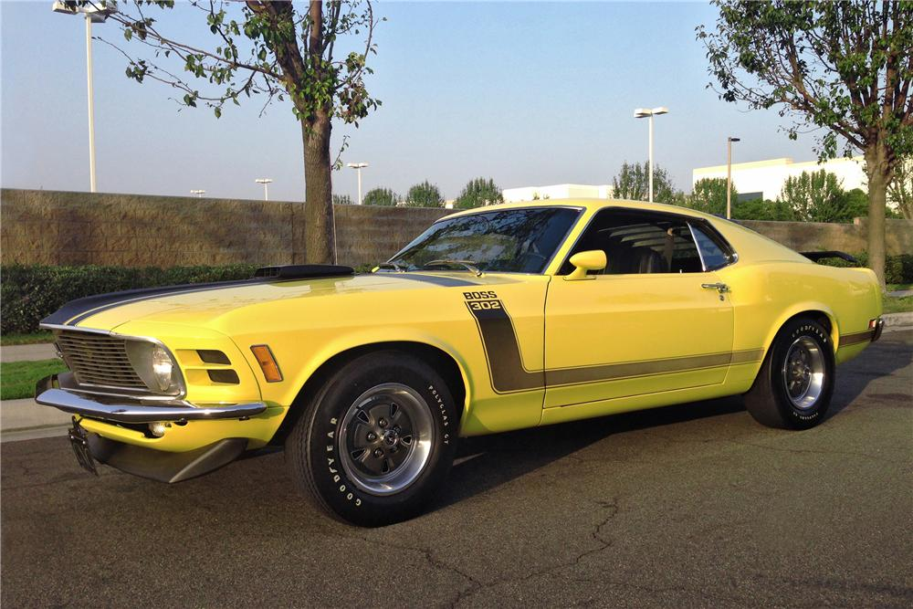 1970 FORD MUSTANG BOSS 302 FASTBACK - Front 3/4 - 162968