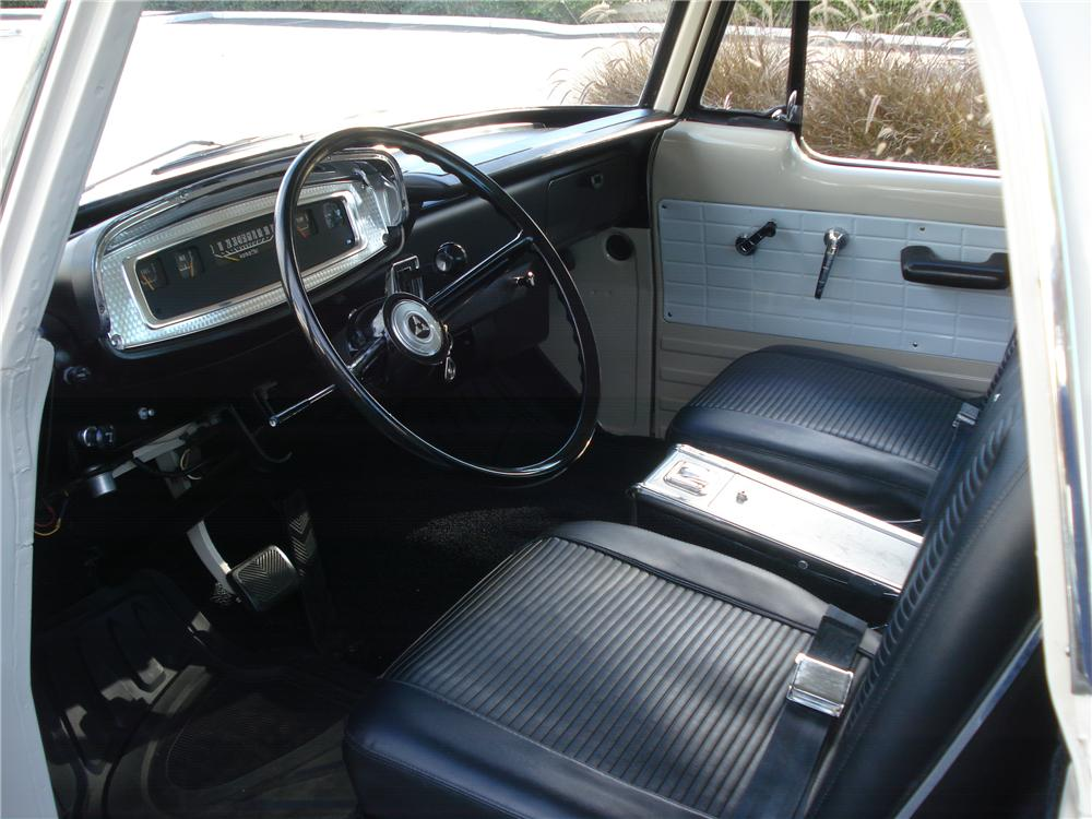 1967 DODGE D-100 CSS PICKUP - Interior - 162970