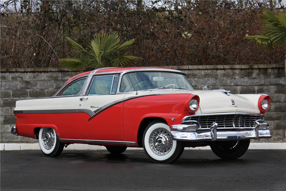 1956 ford fairlane crown victoria 2 door coupe 162971