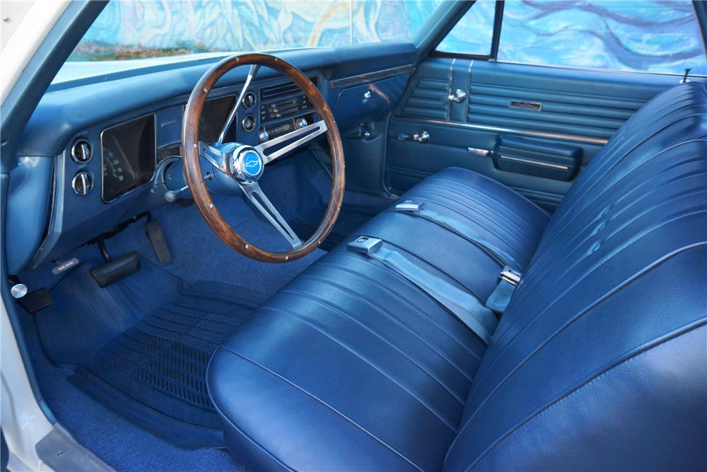1968 CHEVROLET EL CAMINO PICKUP - Interior - 162972
