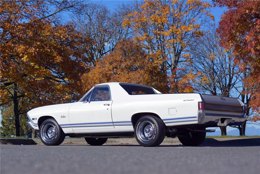 1968 CHEVROLET EL CAMINO PICKUP - Rear 3/4 - 162972