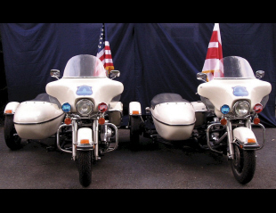 1997 HARLEY-DAVIDSON PRESIDENTIAL POLICE CYCLE W/SIDE -  - 16300