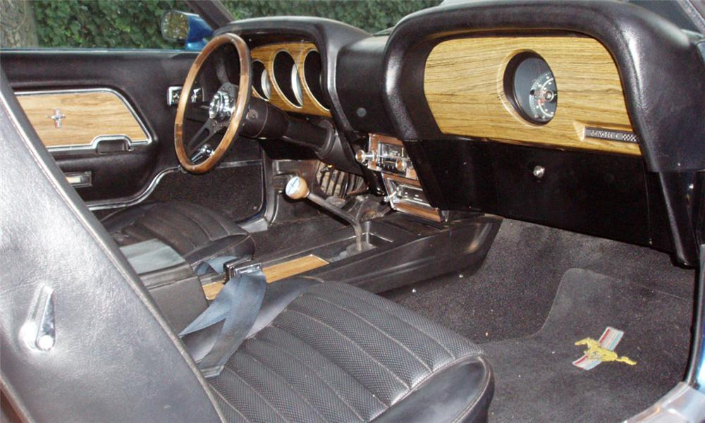 1969 FORD MUSTANG MACH 1 FASTBACK - Interior - 16303