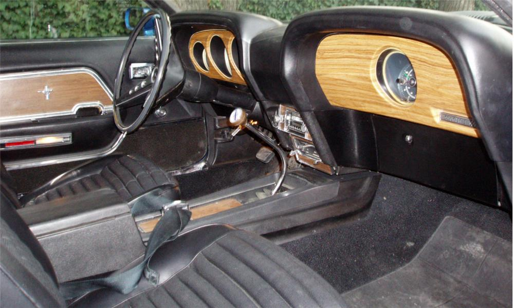 1969 FORD MUSTANG MACH 1 FASTBACK - Interior - 16304