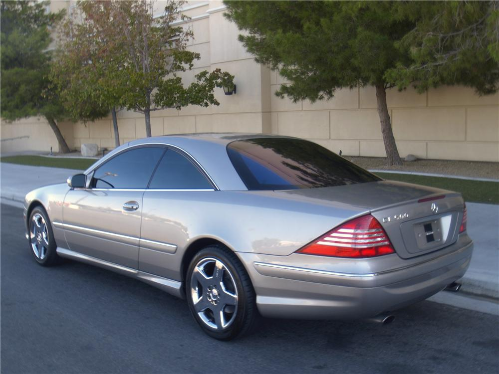 2004 mercedes benz cl500 2 door coupe 163075. Black Bedroom Furniture Sets. Home Design Ideas