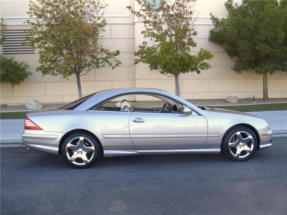 2004 mercedes benz cl500 2 door coupe   163075