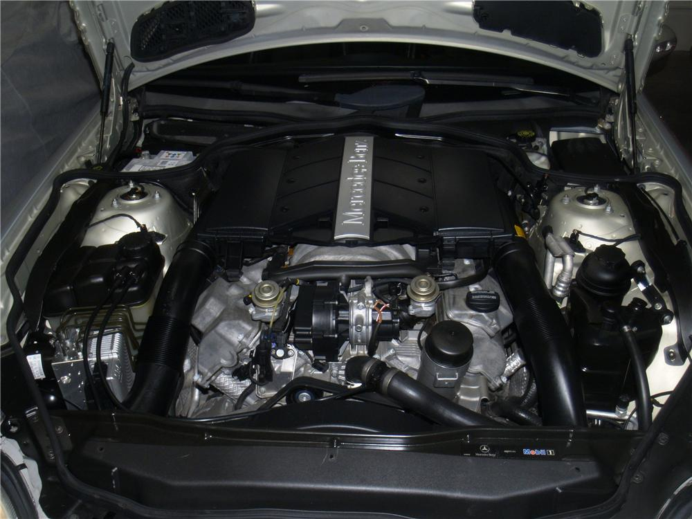 2003 MERCEDES-BENZ SL500 ROADSTER - Engine - 163077