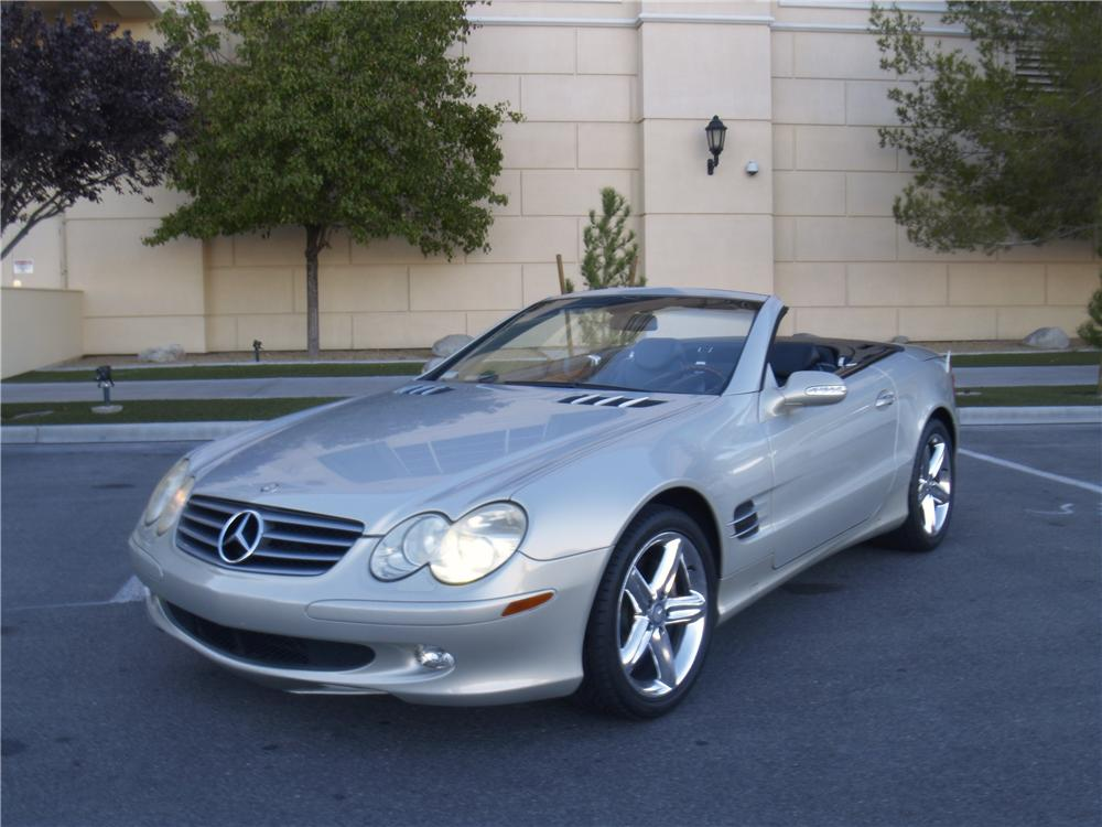 2003 MERCEDES-BENZ SL500 ROADSTER - Front 3/4 - 163077