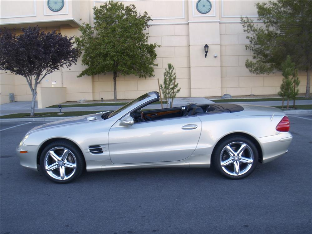2003 MERCEDES-BENZ SL500 ROADSTER - Side Profile - 163077
