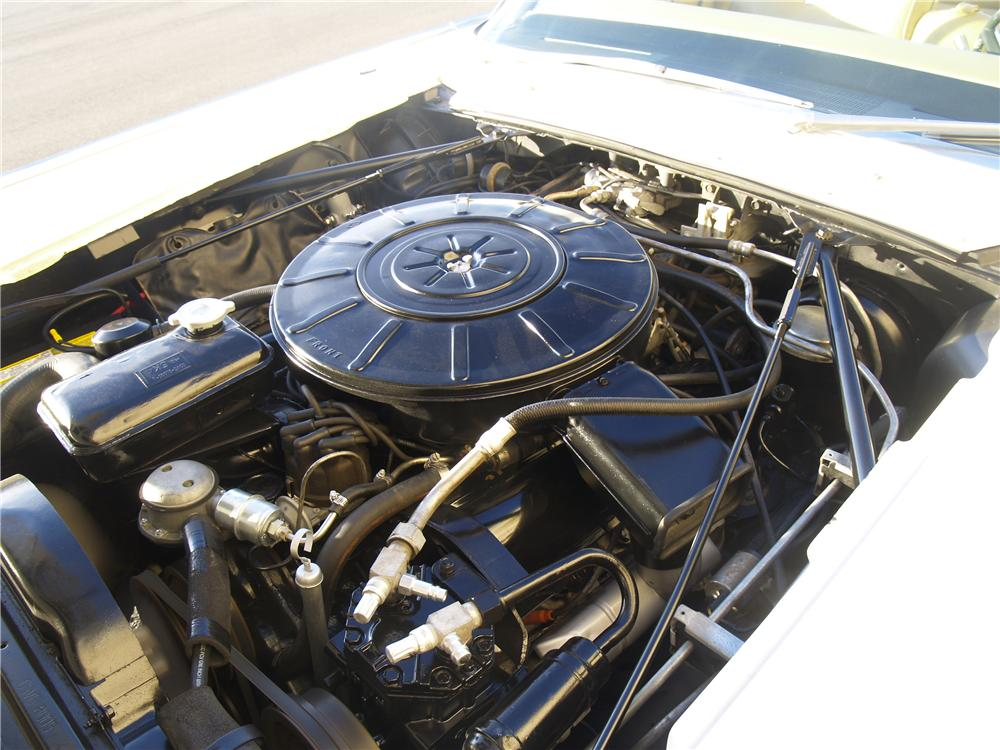 1965 LINCOLN CONTINENTAL CONVERTIBLE - Engine - 163078