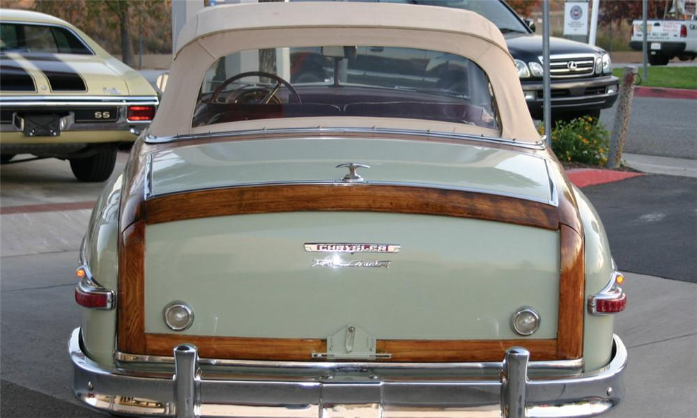 1949 CHRYSLER TOWN & COUNTRY CONVERTIBLE - Engine - 16308